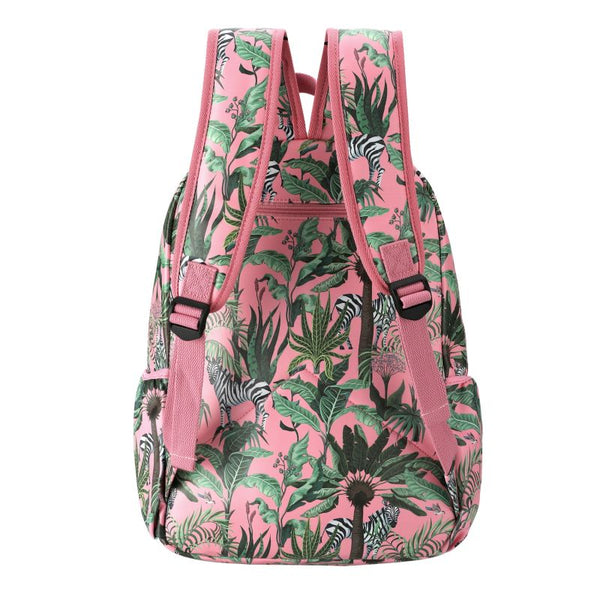 SoGood - Candy Casual Backpack | Zebras in Vegas PU - KaryKase