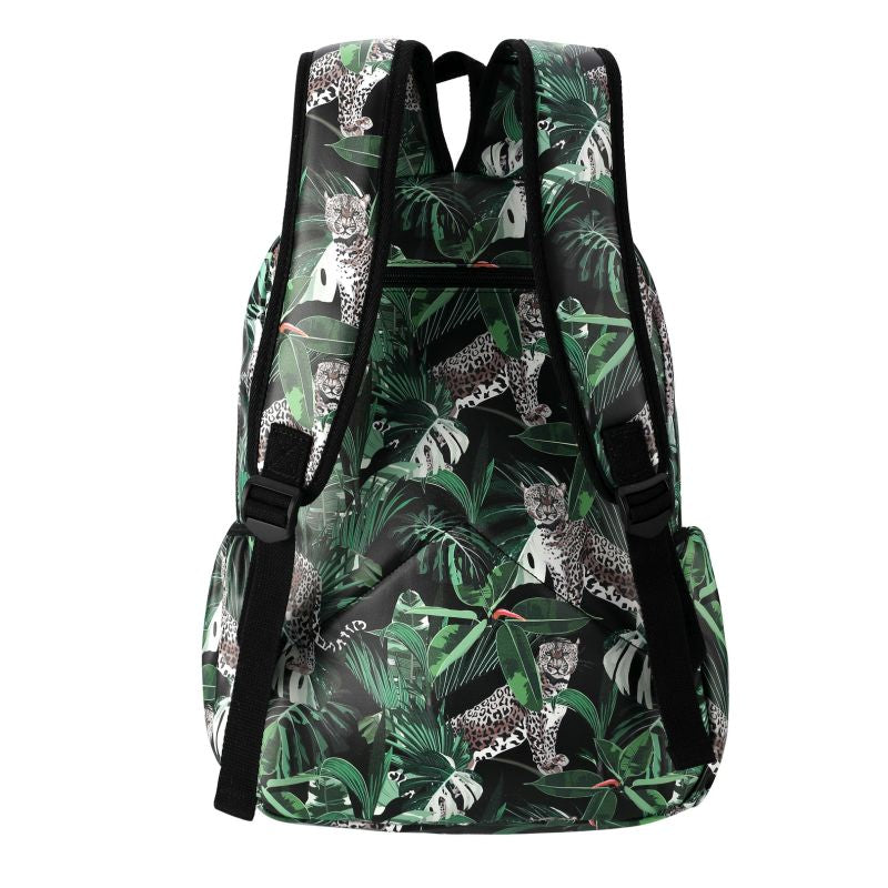 SoGood - Candy Casual Backpack | Jungle Leopard PU - KaryKase