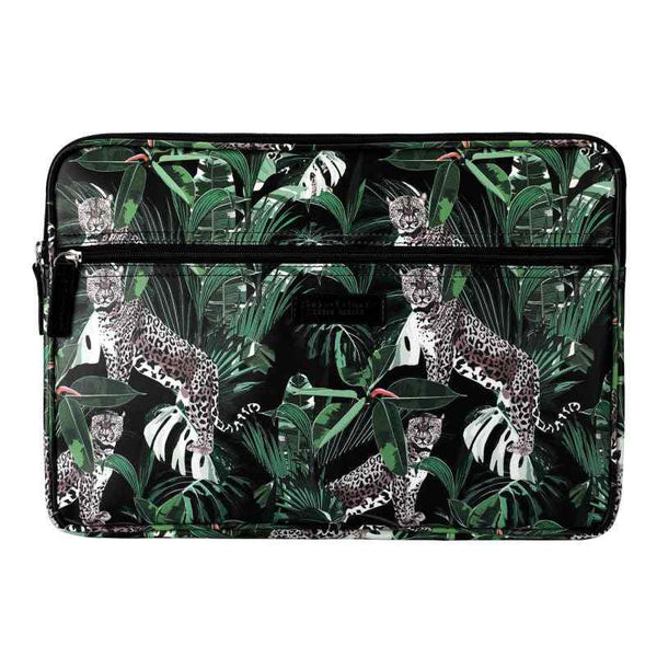 SoGood - Candy 15 inch Laptop Sleeve | Jungle Leopard PU - KaryKase