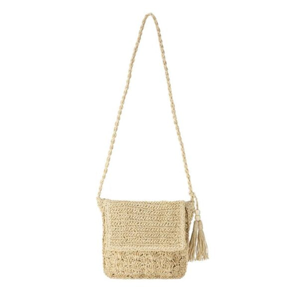 Semi Wild Crochet Cross Body Bag | Cream - KaryKase