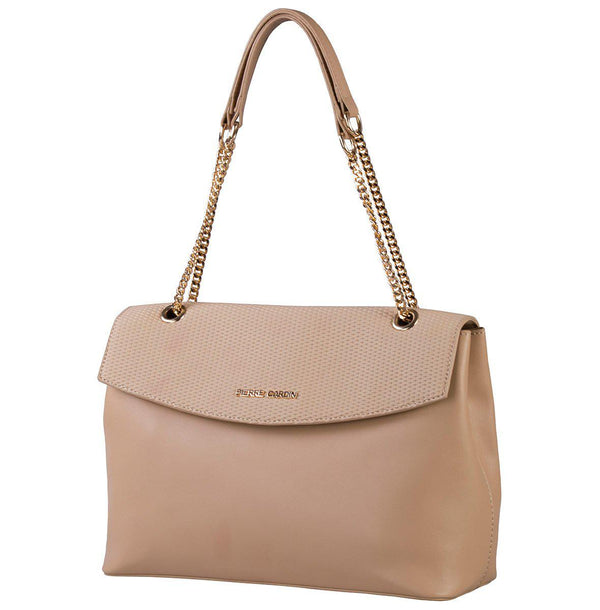 Pierre Cardin Dahlia Top Handle Handbag | Camel - KaryKase