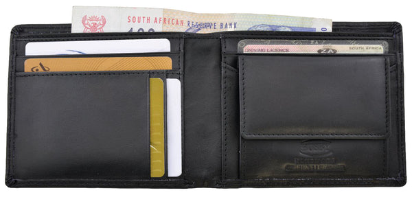 Busby Tennessee Nappa Leather Wallet | Black