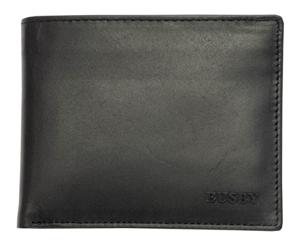 Busby Virginia Nappa Leather Wallet | Black
