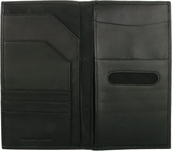 Busby Executive Leather Travel Wallet | Black