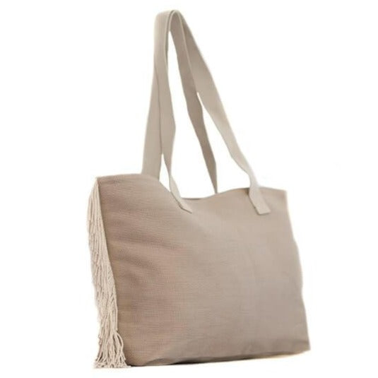 Zemp Bel Air Shopper Bag | Sand - KaryKase