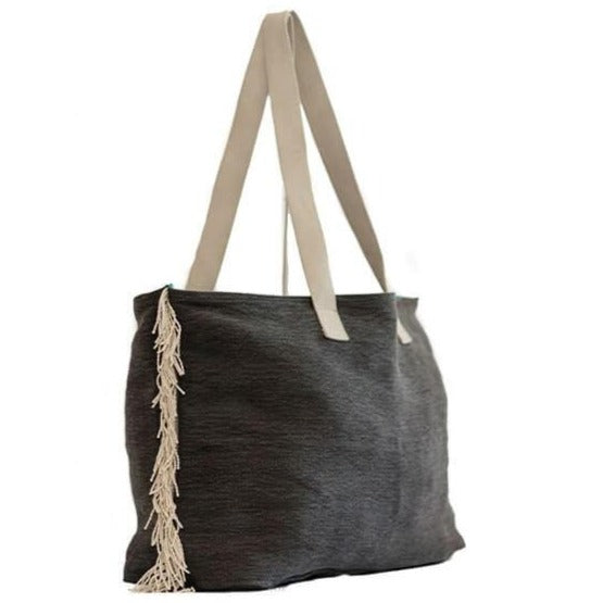Zemp Bel Air Shopper Bag | Charcoal - KaryKase