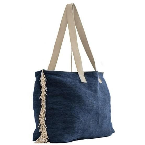 Zemp Bel Air Shopper Bag | Ocean - KaryKase