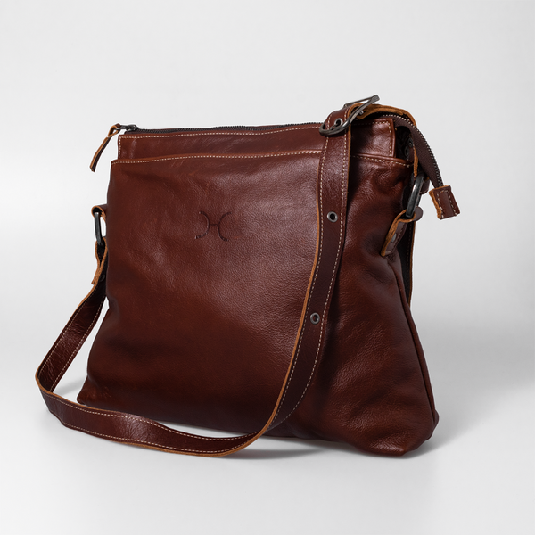 Thandana Boho Leather Handbag - KaryKase