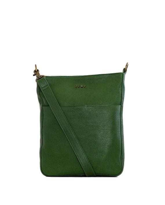 Zemp Boston Cross Body Bag | Forest Green - KaryKase