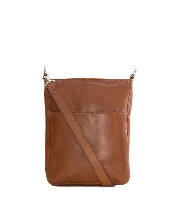 Zemp Boston Cross Body Bag | Toffee Tan - KaryKase