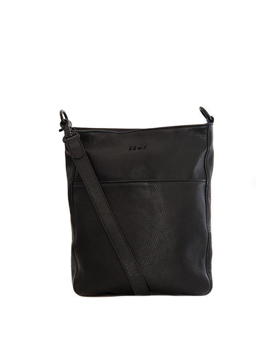 Zemp Boston Cross Body Bag | Black - KaryKase