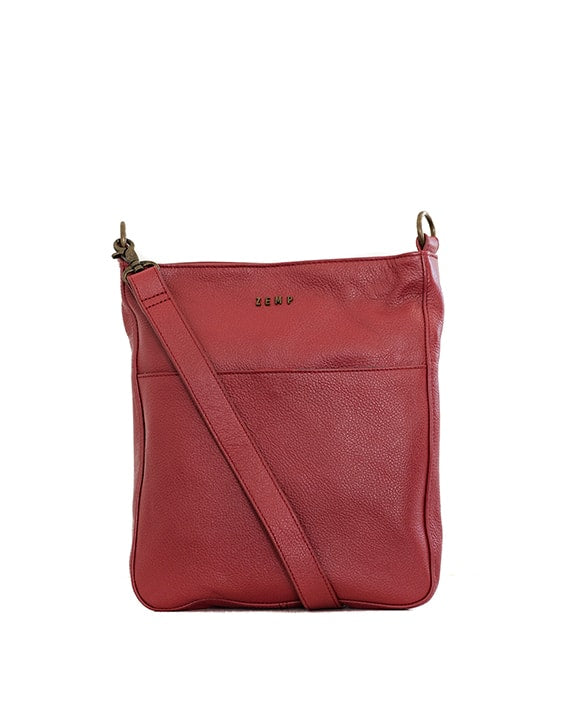 Zemp Boston Cross Body Bag | Red - KaryKase