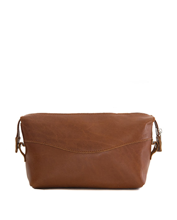 Zemp Bravo Toiletry Bag | Toffee Tan - KaryKase