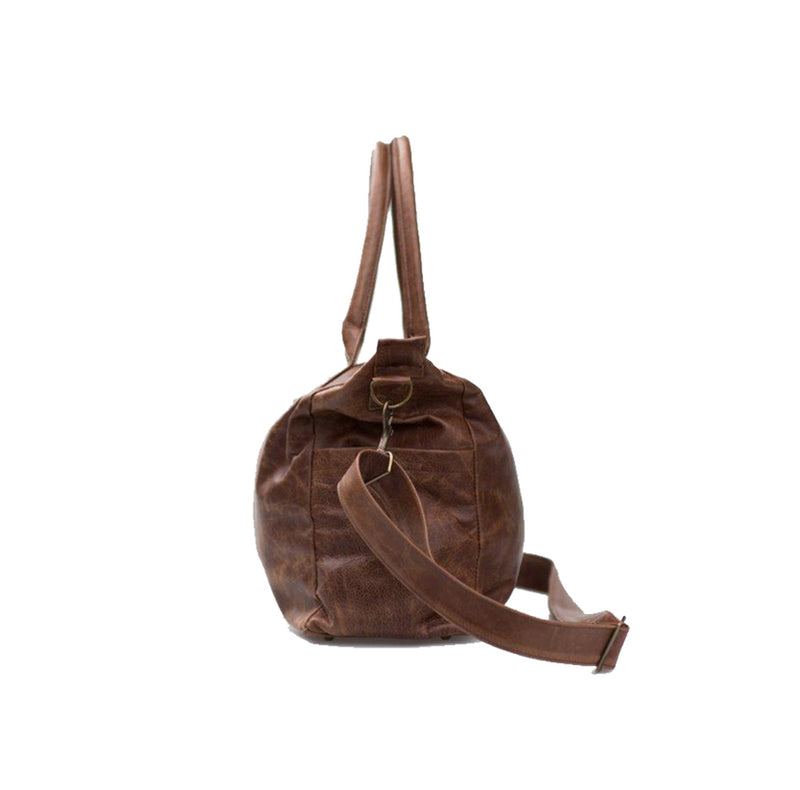 Mally Classic Leather Baby Bag | Brown