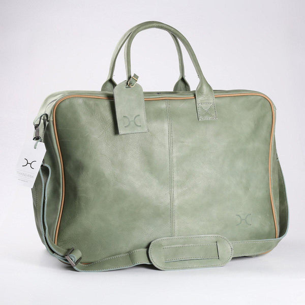 Thandana Business Executive Leather Travel Bag