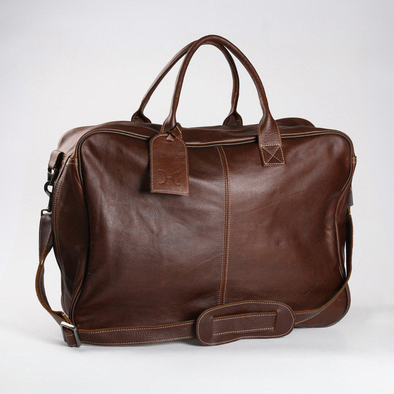 Thandana Business Executive Leather Travel Bag - KaryKase
