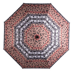 Caramia Catwalk Safari Auto Umbrella | Black/Red - KaryKase