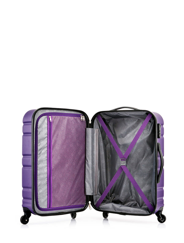 Kamiliant Onda Luggage Set | Purple - KaryKase