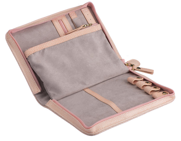Caramia Chloe Jewel Wallet | Dusty Pink Stingray