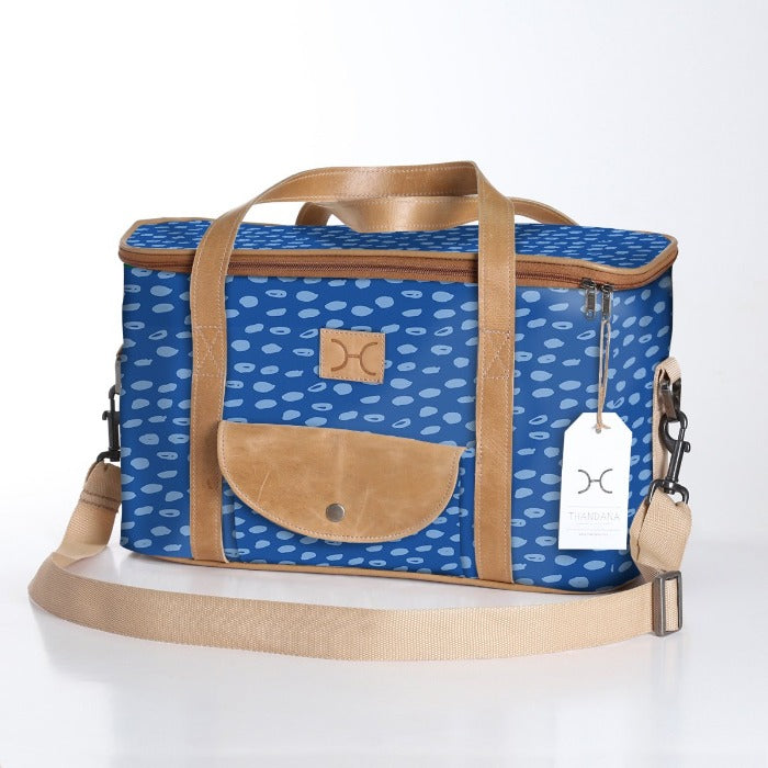 Thandana Laminated Fabric Caddy Cooler Bag | New Designs - KaryKase