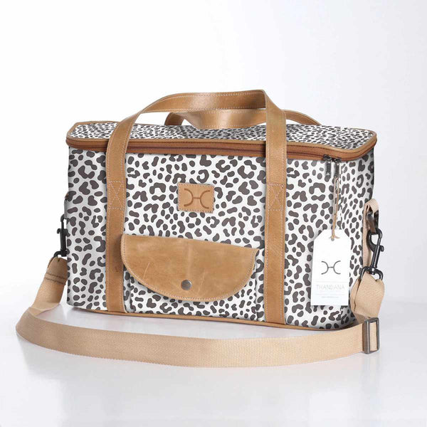 Thandana Laminated Fabric Caddy Cooler Bag - KaryKase