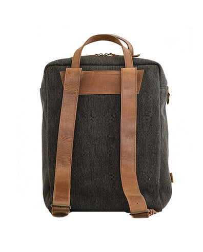 Zemp Camden Functional Backpack | Charcoal - KaryKase