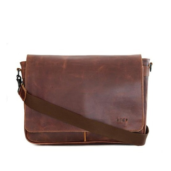 Zemp Cosmos 13″ Shoulder Bag | Chestnut - KaryKase