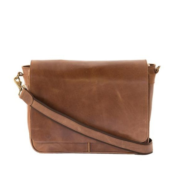 Zemp Cosmos 13″ Shoulder Bag | Waxy Tan - KaryKase