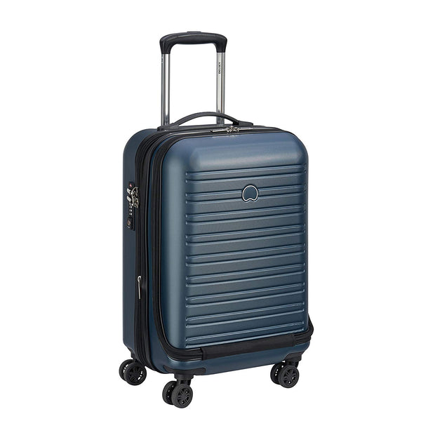 Delsey Segur 2.0 Expandable Cabin Business Case 55cm | Blue - KaryKase