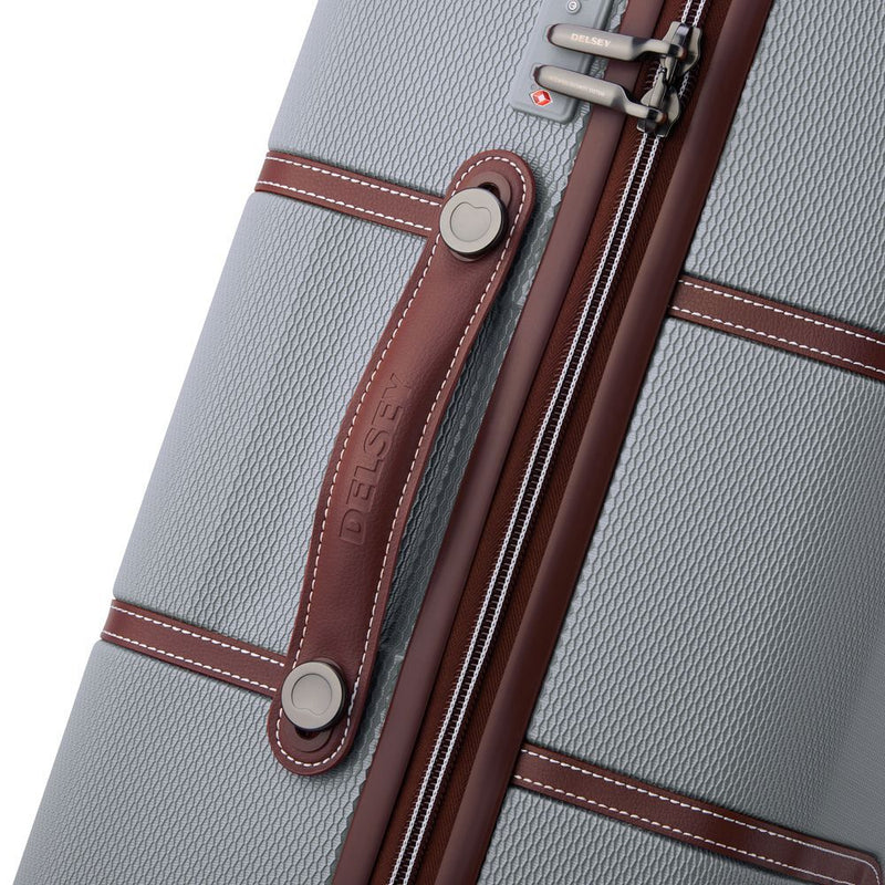 Delsey Chatelet Air Carry On 55cm | Silver - KaryKase