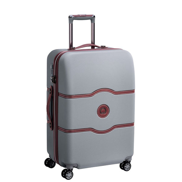 Delsey Chatelet Air Medium Trolley Case 67cm  | Silver - KaryKase
