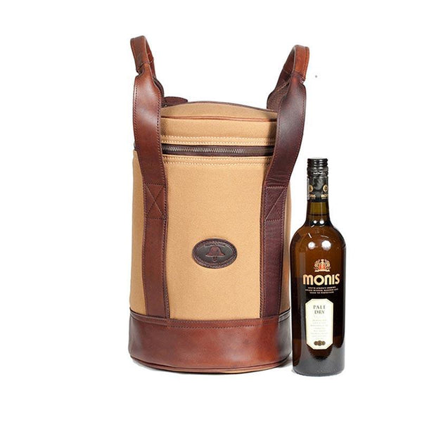 Melvill & Moon Djembe Wine Cooler (4 Bottles) | Black - KaryKase