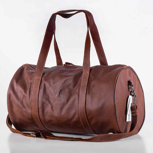 Thandana Classic leather Duffel Bag - KaryKase
