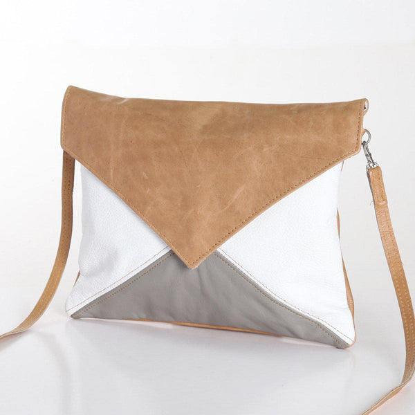 Thandana Envelope Leather Handbag | Summer - KaryKase