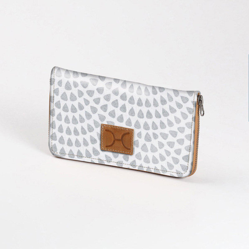Thandana Ladies Laminated Large Fabric Purse - KaryKase