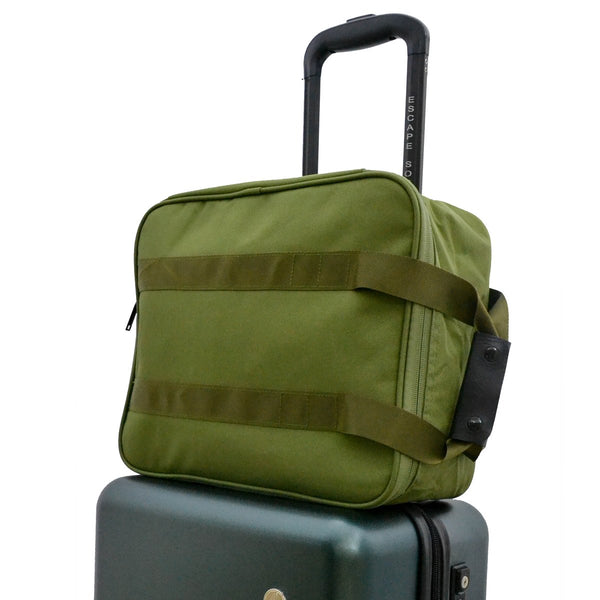 Escape Society Travel Organiser Tote Bag | Forest Green - KaryKase