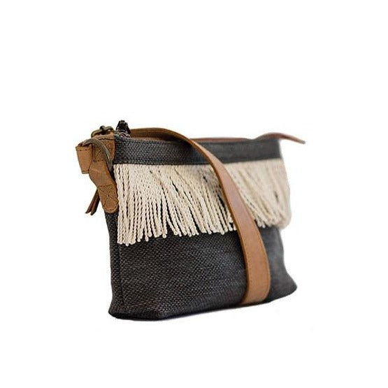 Zemp Goa Crossbody Bag | Charcoal - KaryKase
