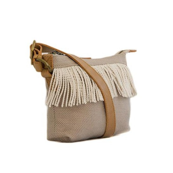 Zemp Goa Crossbody Bag | Sand - KaryKase