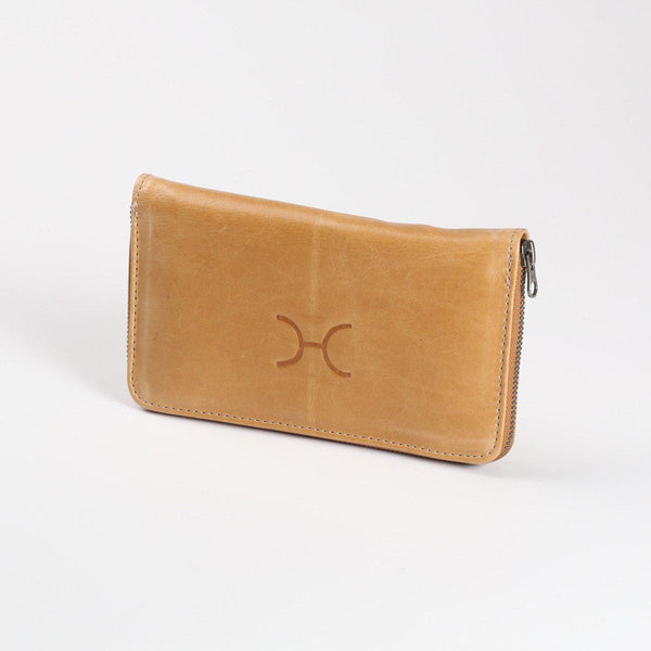 Thandana Ladies Large Leather Wallet | Hazelnut