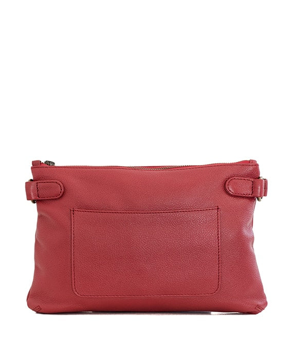 Zemp Ibiza Cross Body Bag | Red - KaryKase