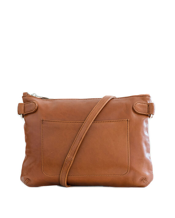 Zemp Ibiza Cross Body Bag | Toffee Tan - KaryKase