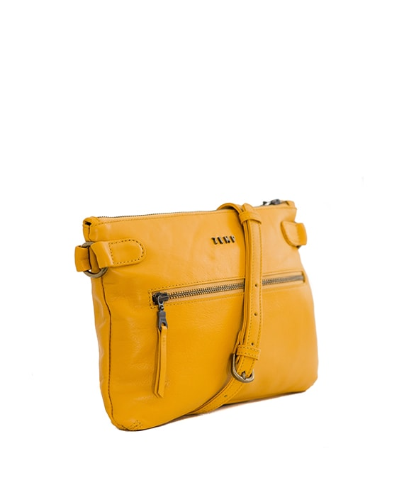 Zemp Ibiza Cross Body Bag | Yellow - KaryKase