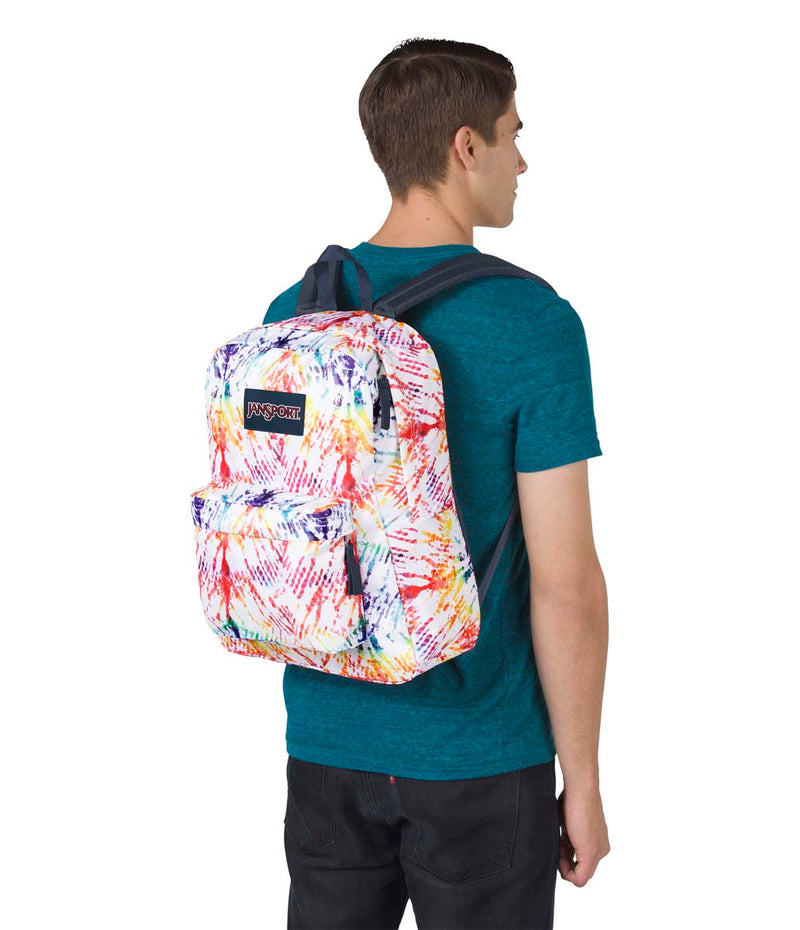 Jansport SuperBreak® Backpack | Rainbow Tie Dye - KaryKase