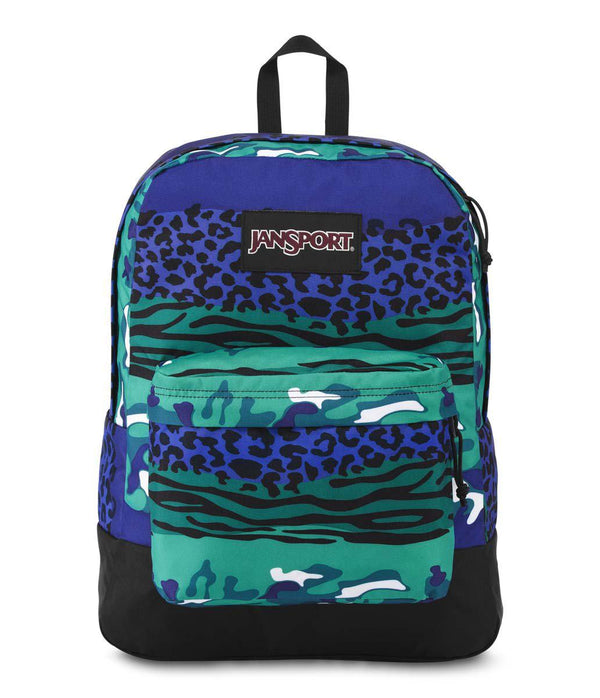 Jansport Black Label SuperBreak® Backpack | Navy Animal Camo - KaryKase