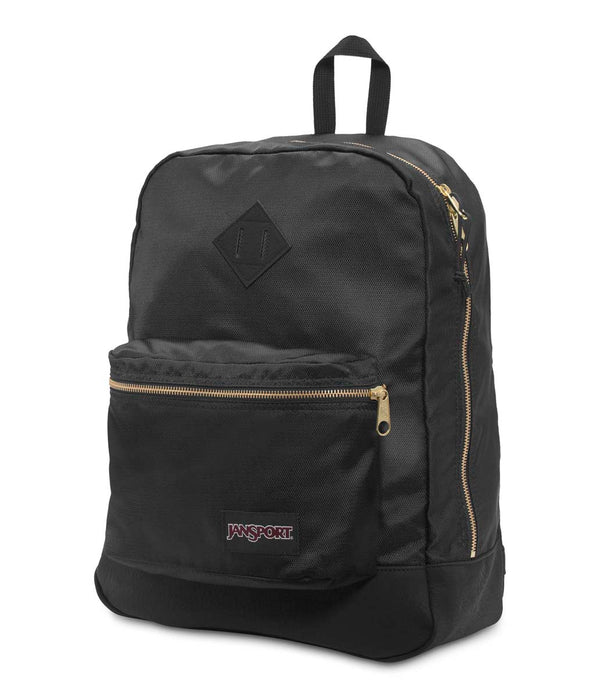 Jansport Super FX Backpack | Black/Gold