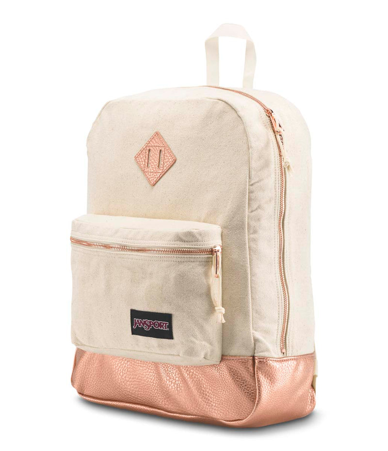 Jansport Super FX Backpack | Rose Gold - KaryKase