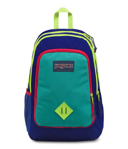 Jansport Super Sneak Backpack | Regal Blue/Neon Yellow - KaryKase