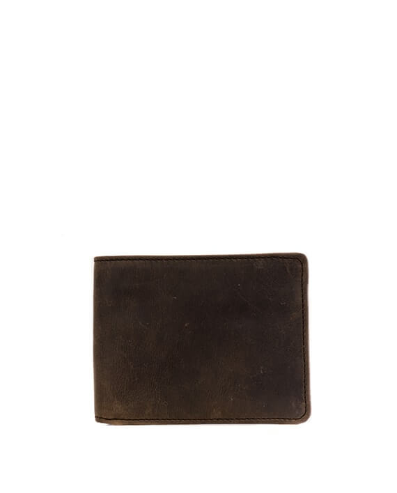Zemp James 8 CC Billfold Wallet | Waxy Brown - KaryKase