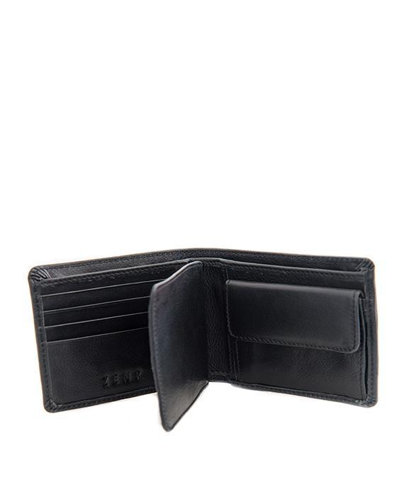 Zemp James 8 CC Billfold Wallet | Black - KaryKase