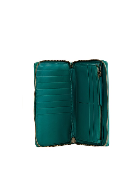 Zemp Jill 12 CC Travel Wallet | Ocean Blue - KaryKase